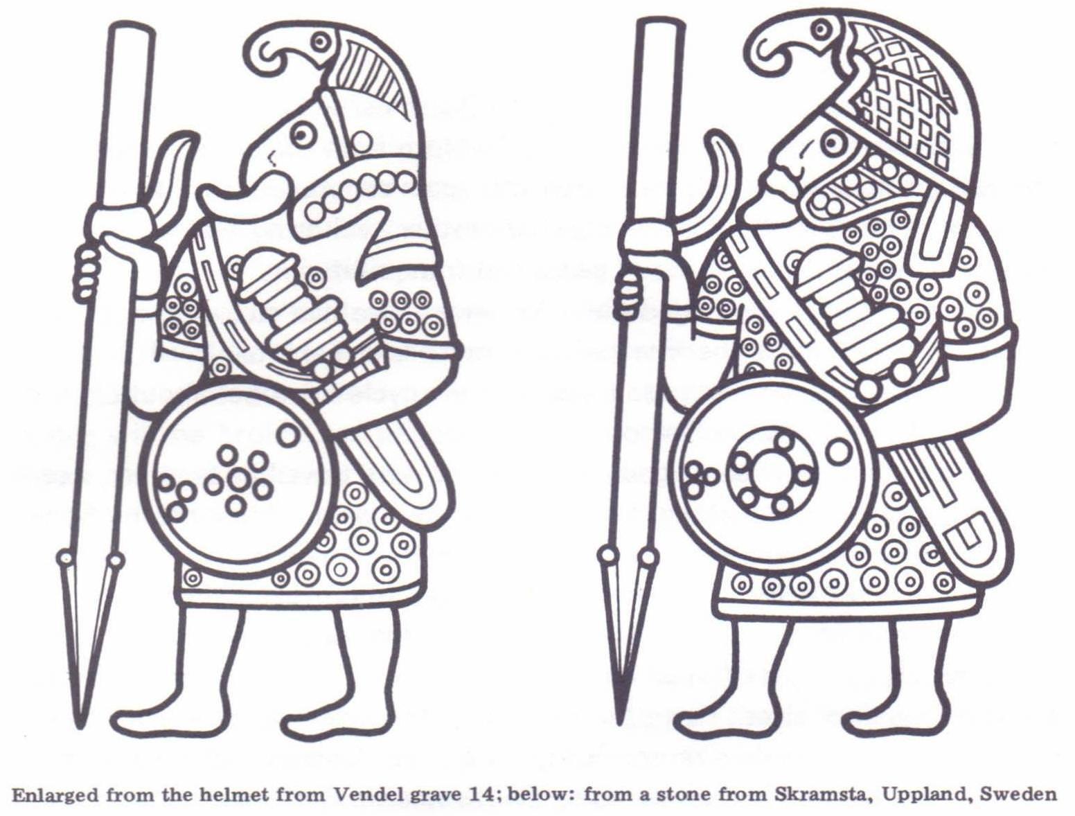 Helmet plate decoration | Scandanavian, Pre-Viking | Pinterest ...