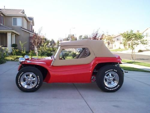 Volkswagen Manx Dune Buggies Re Upholstery Seat Soft Top Material Pic
