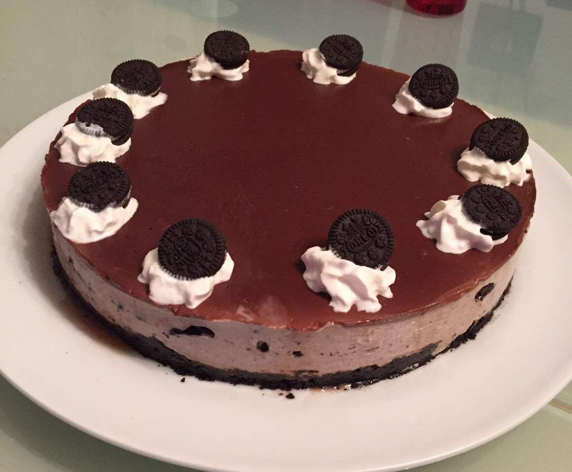 Receita Cheesecake de Oreo por Boas - Categoria da receita Sobremesas