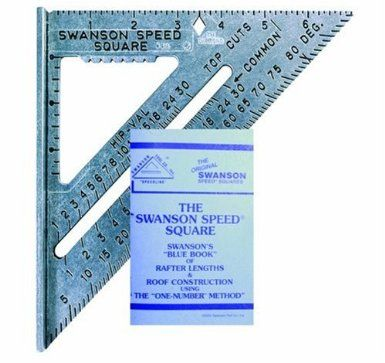 Swanson Tool So101 7 Inch Speed Square By Swanson 4 8 Out Of 5 Speed Square Square Tool Mitered Square