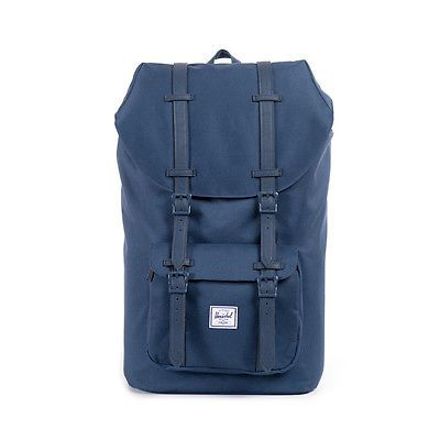 #Herschel #little #america 23.5 litre back pack ruck sack 10014 navy navy pu,  View more on the LINK: http://www.zeppy.io/product/gb/2/172151405895/