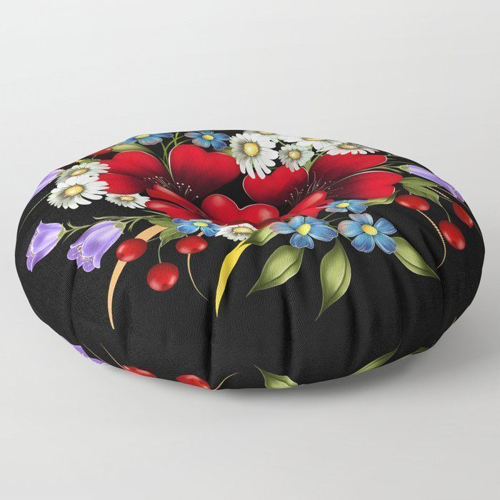 Bouquet Of Flowers Floor Pillow Bouquet Of Flowers Floor Pillow … Bouquet Of F...