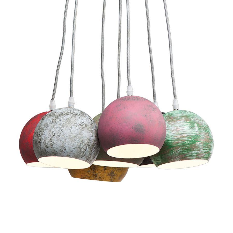 Hangende lampen, Lampen and Hangers on Pinterest