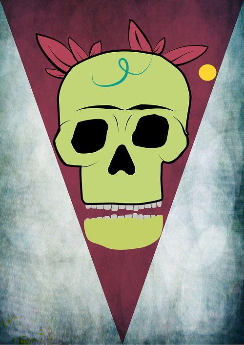 #ilustracion #calavera #skull