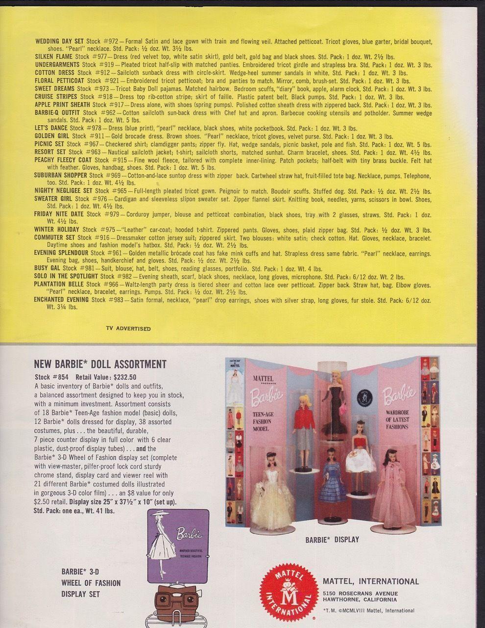 catalogo 1960