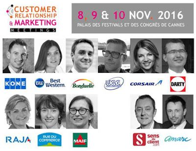 Les speakers des Customer Relationship meetings 2016 / #relationclient