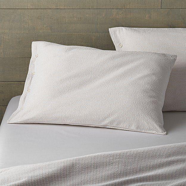 Nantucket Standard Pillow Sham | Crate and Barrel
