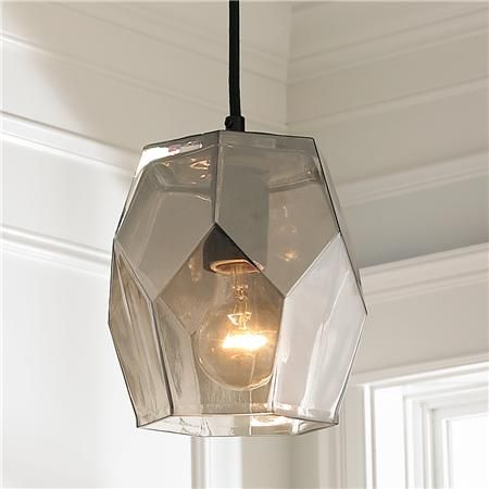 Young house love smoked glass prism pendant lighting pinterest young house love smoked glass prism pendant aloadofball Image collections