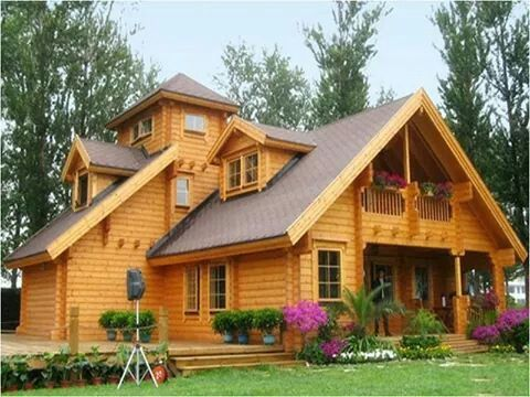 Caba a inspirasi villa casas coloniales modelos de for Modelos de cabanas rusticas