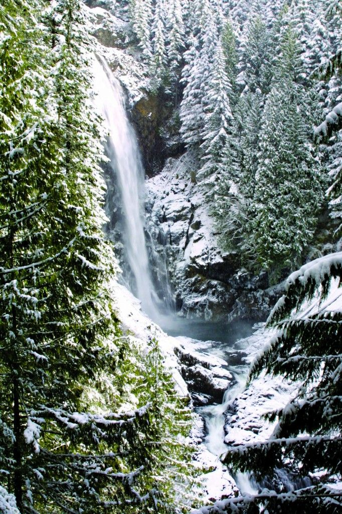 Wallace Falls State Park - By way of Woody Trail, you'll hike miles all the  way to Middle Falls. Of all nine waterfalls that make up Wallace Falls, ...