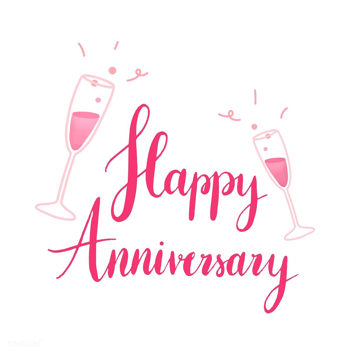 Pink and Glitter Love Wedding Anniversary Wall Art