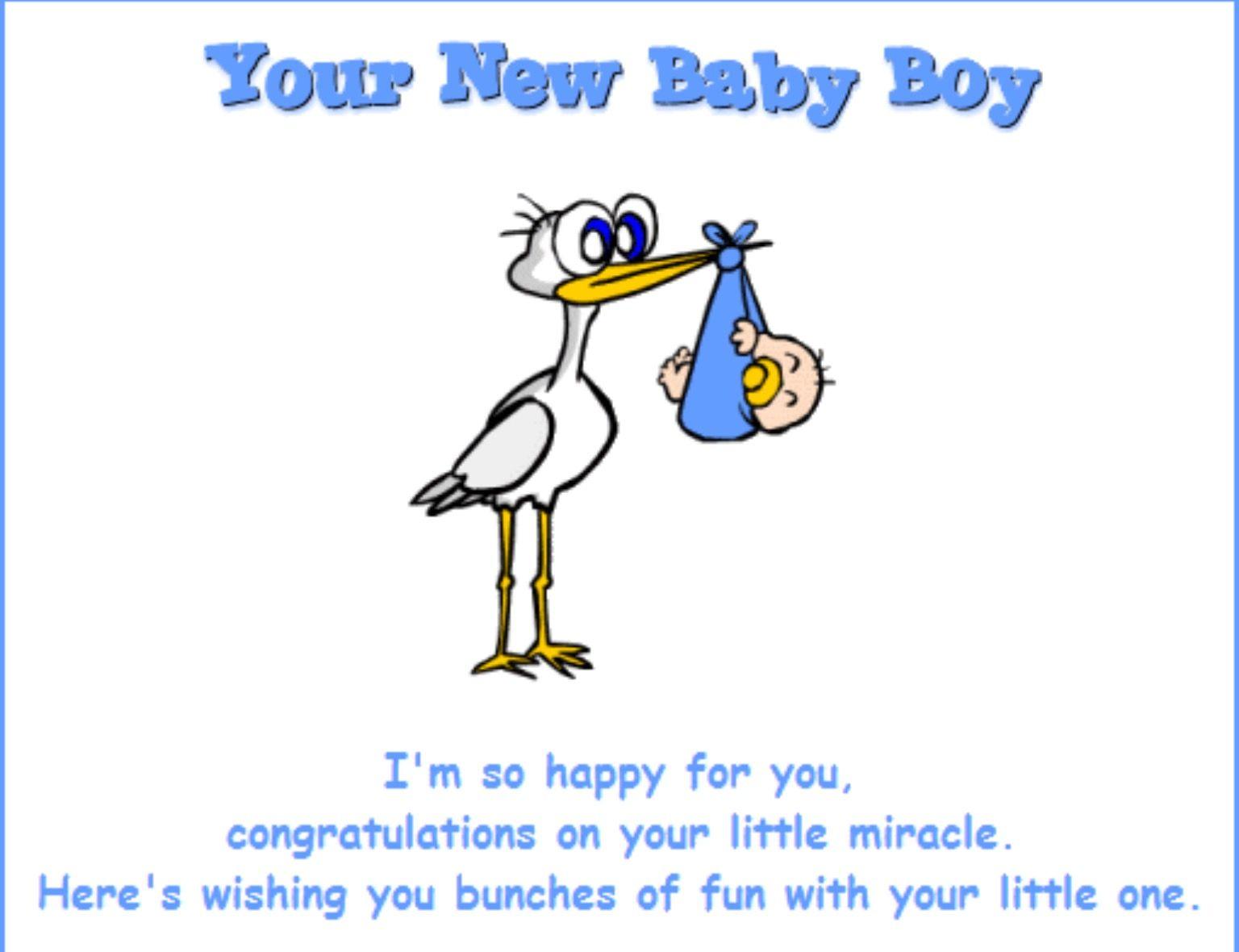 congratulation new baby boy