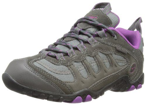 Hi-Tec Windermere, Damen Trekking- & Wanderschuhe, Grau (charcoal/purple), 38 (5 UK)
