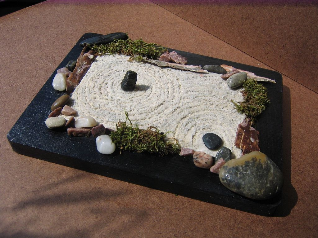 Superbe Personal Peace Mini Rock Garden