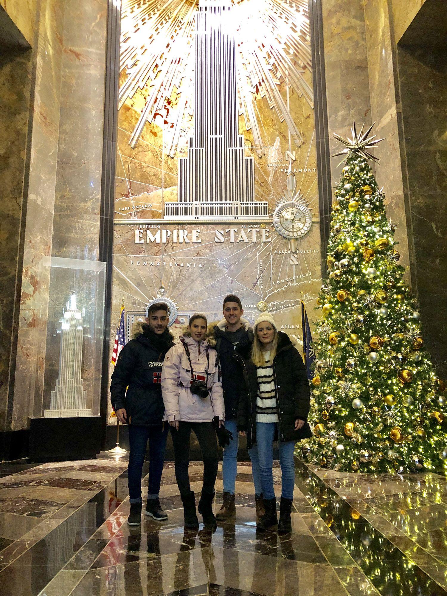 Empire State, Ruta andando por Manhattan (Nueva York)