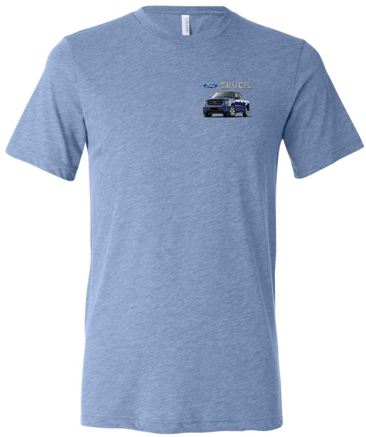 Honda Toddler T-Shirt Blue Standard Logo Heather Tee