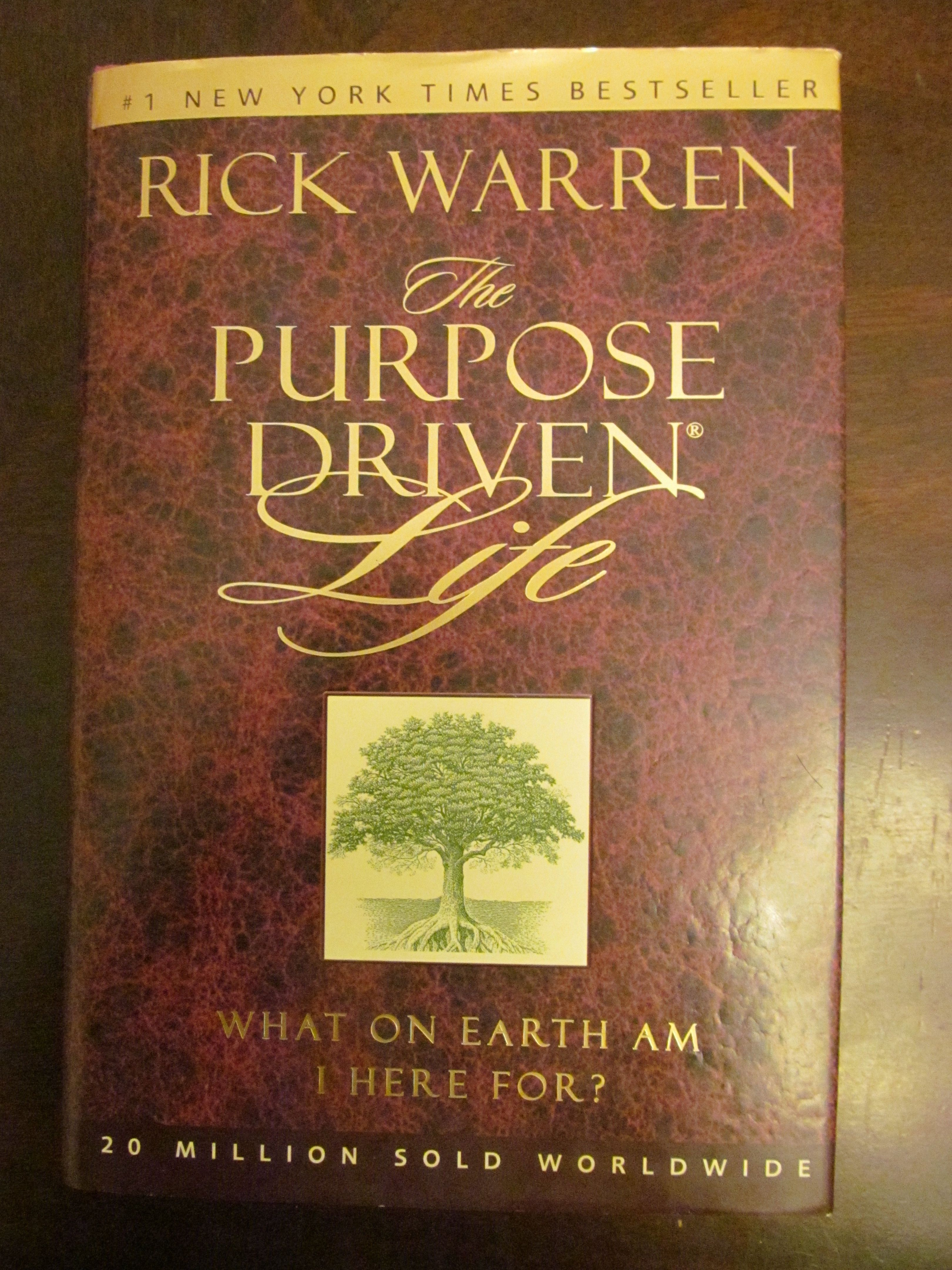 The Purpose Driven Life What On Earth Am I Here For The