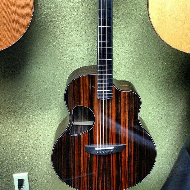 custom McPherson guitar