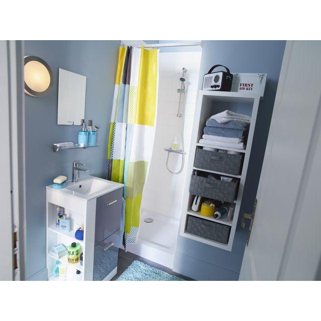 best tagre modulable cases coloris blanc mixxit mini salle de bainsalle with mini etagere salle. Black Bedroom Furniture Sets. Home Design Ideas