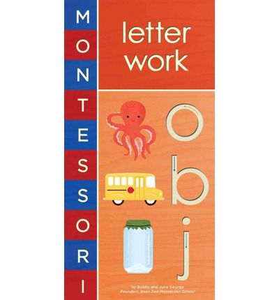 This book follows the Montessori method by introducing the letters of the alphabet as sounds and shapes before memorizing their names.