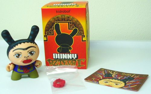 "Azteca Series 1 Dunny 3/"" Kidrobot"