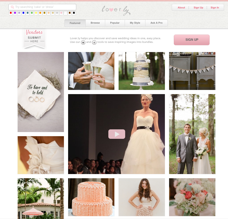 Loverly Is Building A Smarter Pinterest For Brides, With 30 Million Images Viewed Per Month