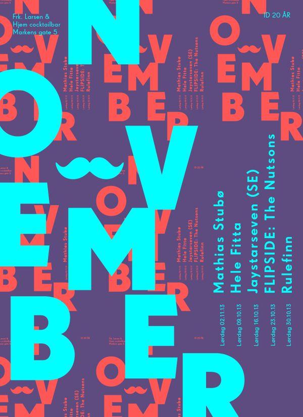 Posters by Alexey Novoselov, via Behance