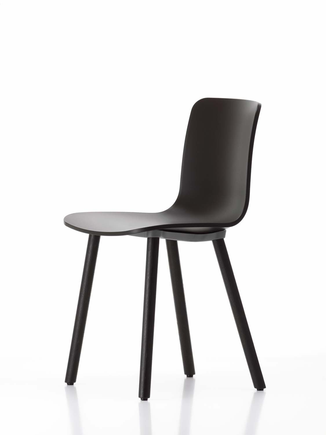 Vitra Hal Wood Stoel Vitra Hal Wood Chair Chairs Furniture Chair