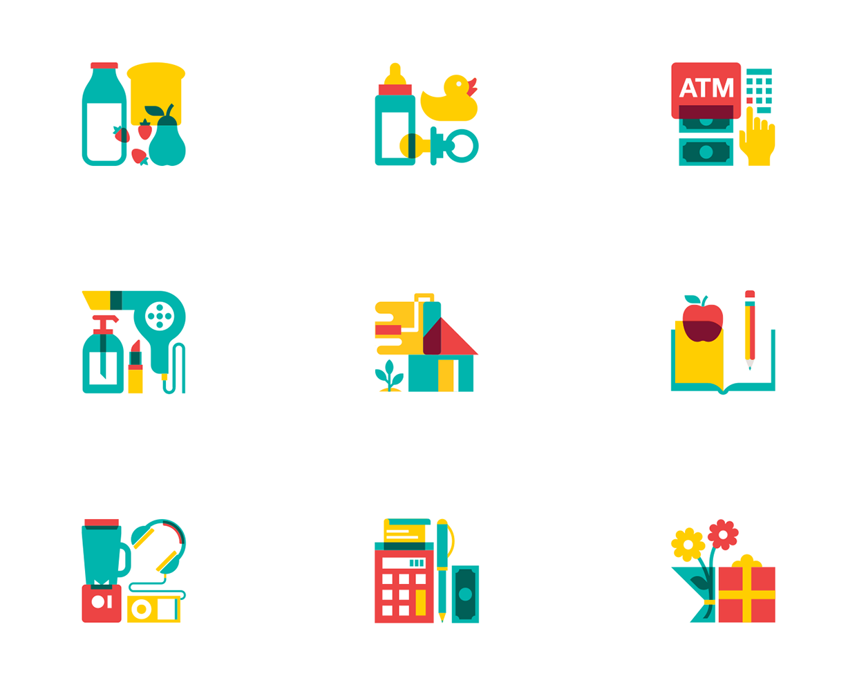icon selection II on Behance