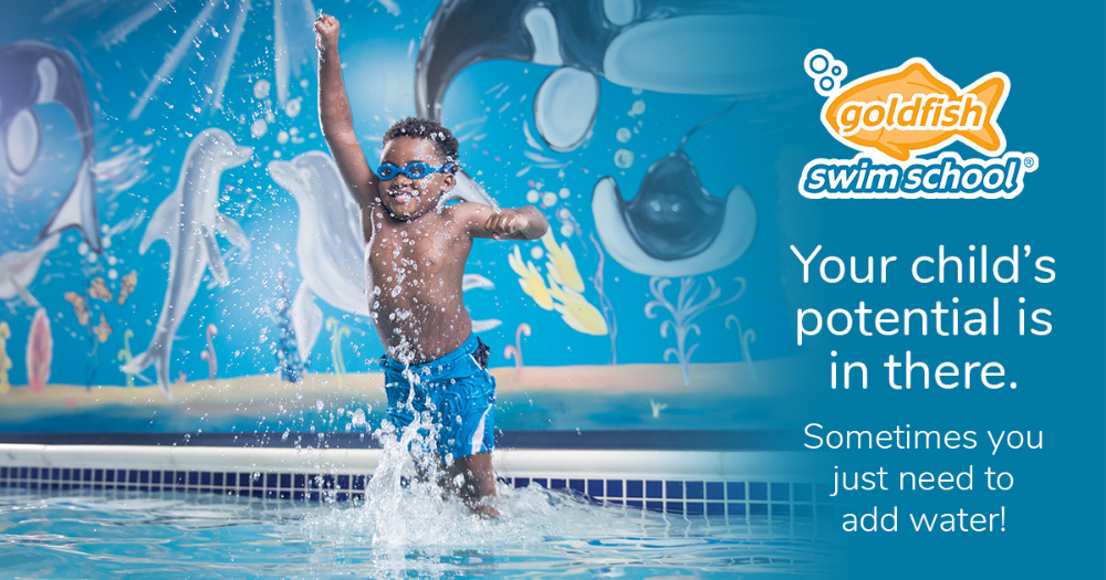 At Goldfish Swim School We Deliver Kids Swimming Lessons Rooted In The Science Of Swimplay Our Signature Swimming Lessons For Kids Swim Lessons Swim School