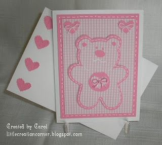 Bear and Hearts from cart