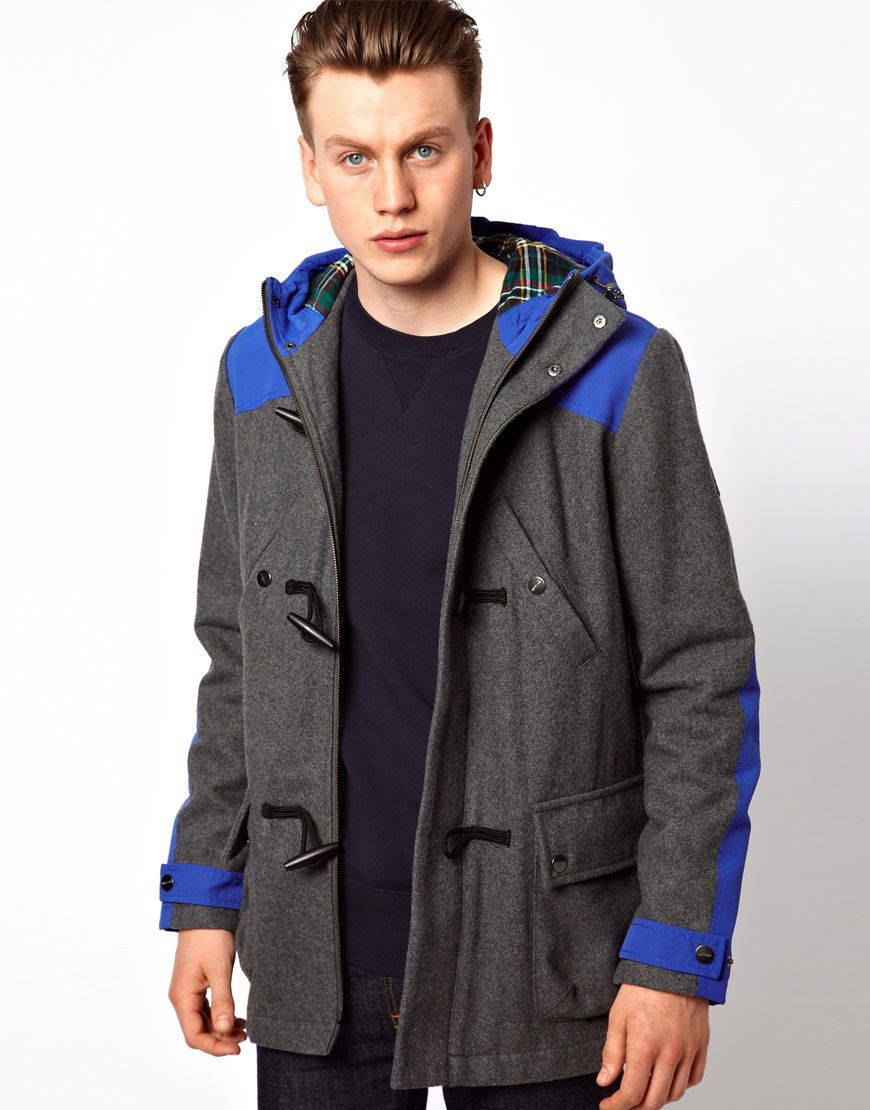 $289, Technical Duffle Coat by Lyle