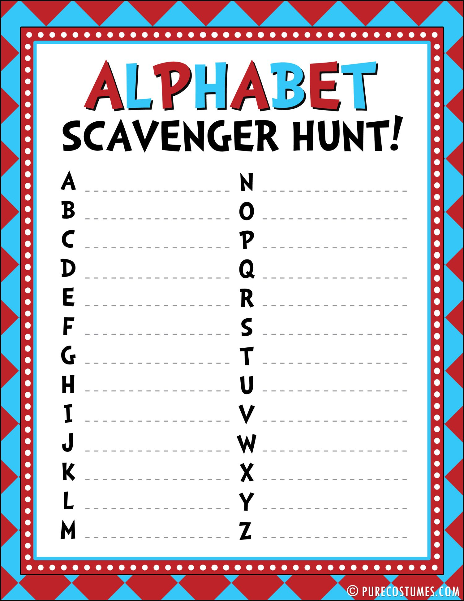 Read Across America Party Activities Plus Free Printables