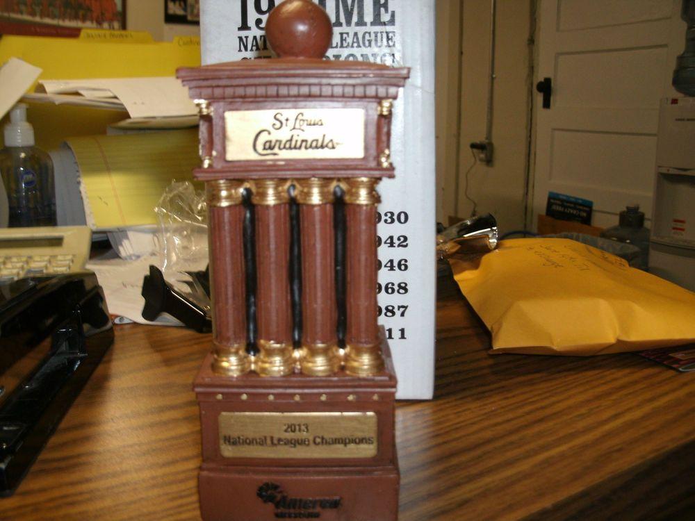 2013 St. Louis Cardinals  NLC Replica Trophy #StLouisCardinals