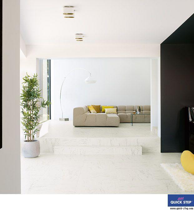 Uf1400 m rmol carrara servicolor suelos pinterest - Tarima flotante blanca ...
