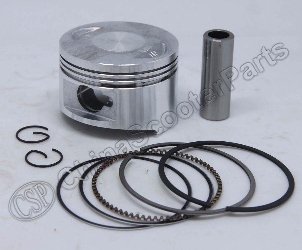 GY6 57 4mm Piston Ring Kit 150CC 1P57QMJ Kunroad Dune Kazuma