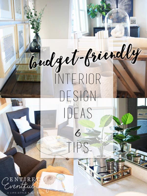 Budget Friendly Interior Design Ideas Easy Things That I Can