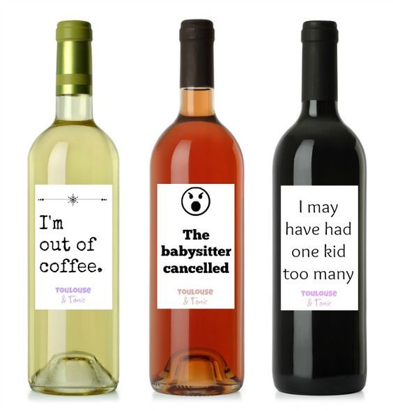 12 Honest Wine Labels For Moms Funny Wine Labels Wine Humor Mom Holiday