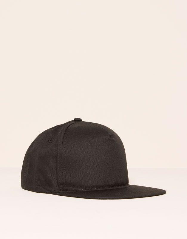 Pull&Bear - hombre - accesorios - ver todo - gorra beisbolera - negro -  05831500-I2016