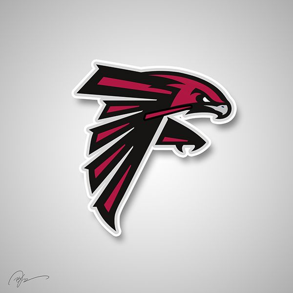 Nba Logos Remixed With Nfl Logos Nba Logo Nfl Logo Atlanta Falcons Logo