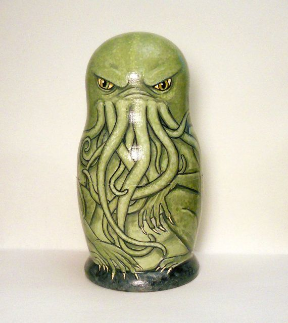 Hollow Wooden Cthulhu - fill with unspeakable errata?