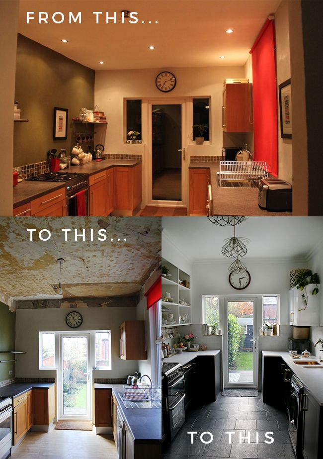 How to Make the Most of a Small Kitchen | False ceiling ...
