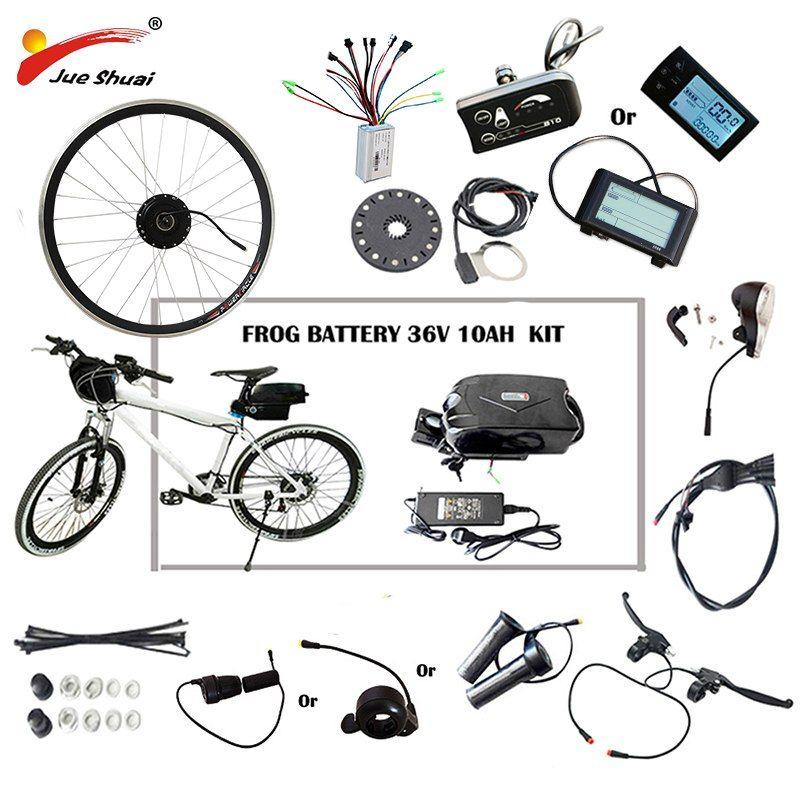 36v 48v 250w 500w Electric Bike Kit For 20 26 700c Wheel Motor