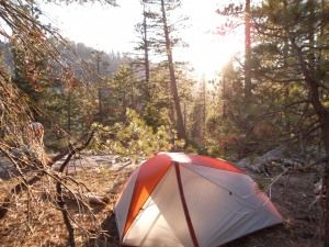 Treeline Backpacker's review of the L.L.Bean Microlight FS 2 person tent.
