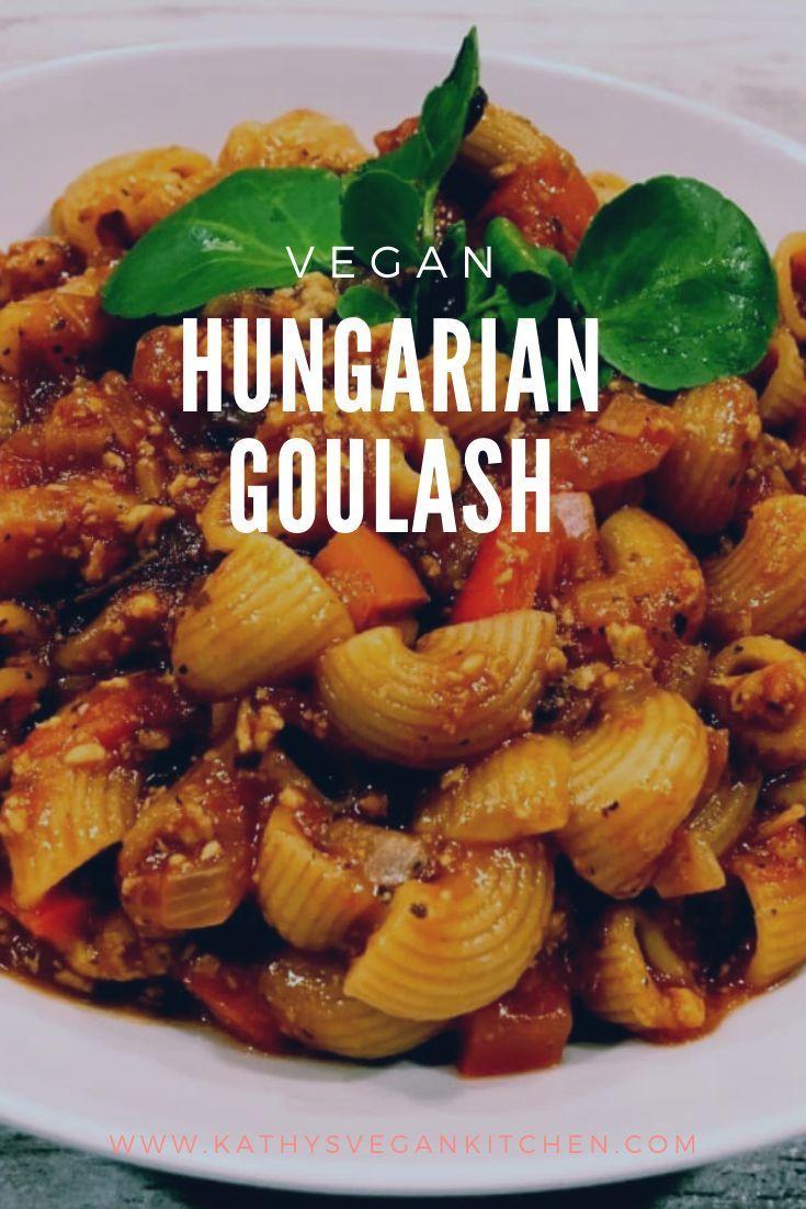 Vegan Hungarian Goulash #easythingstocook