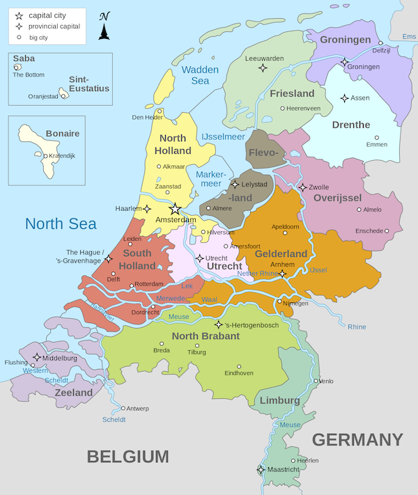 Holland Map World