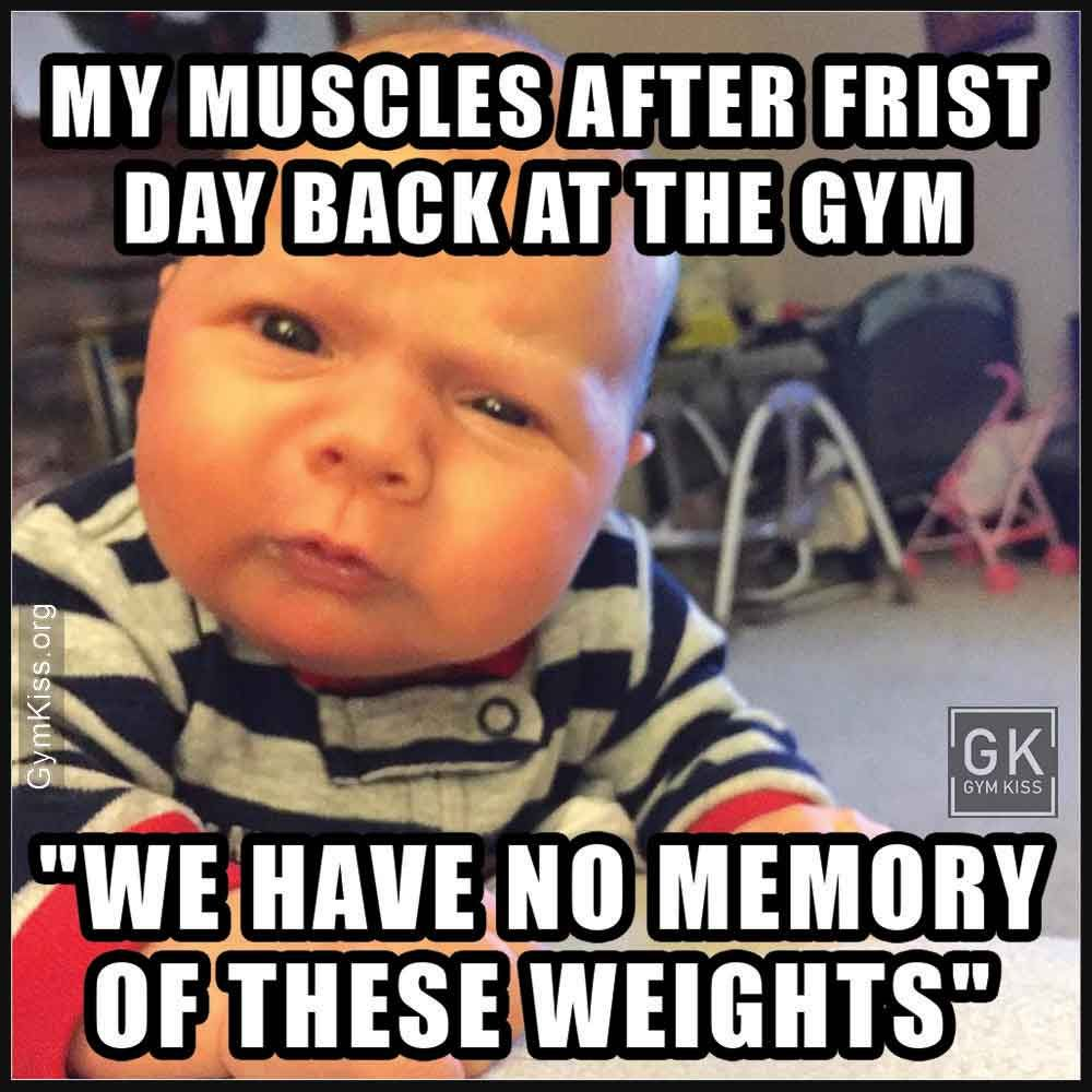 Funny Saturday Workout Memes