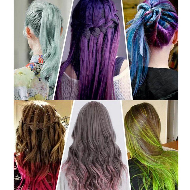 Professional Temporary Hair Color Hair Dye Highlights Streaks