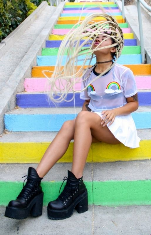 Am I Awake Right Now, or Am I Dreaming? FashionLook provides you incredibly wonderful and alluring items :-) Check now! #clothes #wearing #outfit #urban #streetstyle #colorful #style #fashion #FashionLook