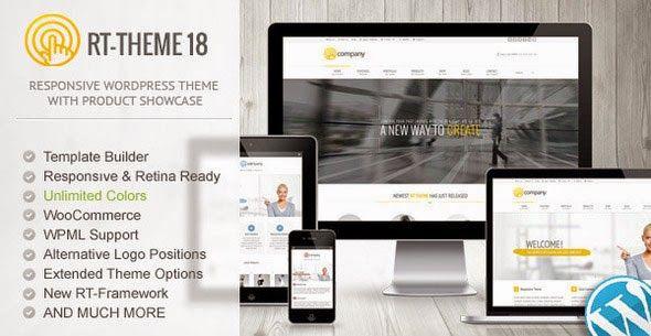 Downlod Free RT-Theme 18 v1 7 1 Responsive Wordpress Theme